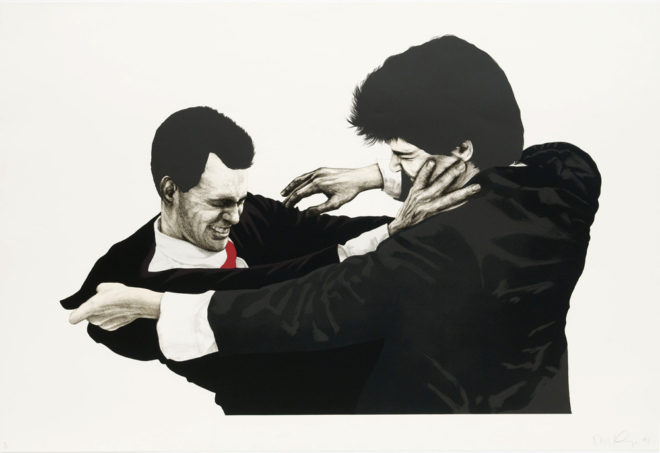 A Fight at the Opera