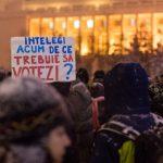 Cele mai puternice mesaje de la proteste (miercuri și joi)