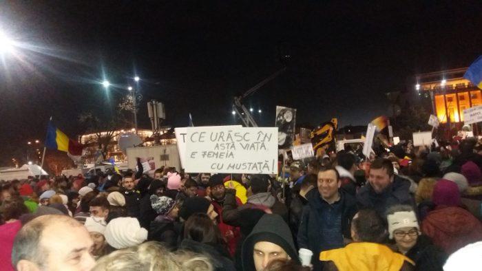 Cele mai puternice mesaje de la protest (sâmbătă)