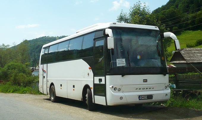 Un autocar numit România