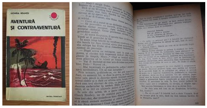 Cărți de carantină. Aventură și contraaventură