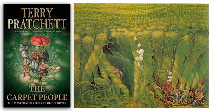 Cărți de carantină. The Carpet People
