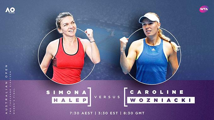 Simona și Caroline, meciul suprem