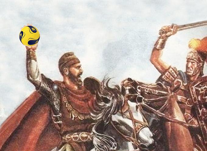 Dacii au inventat handbalul, pe semicercul de la Sarmizegetusa