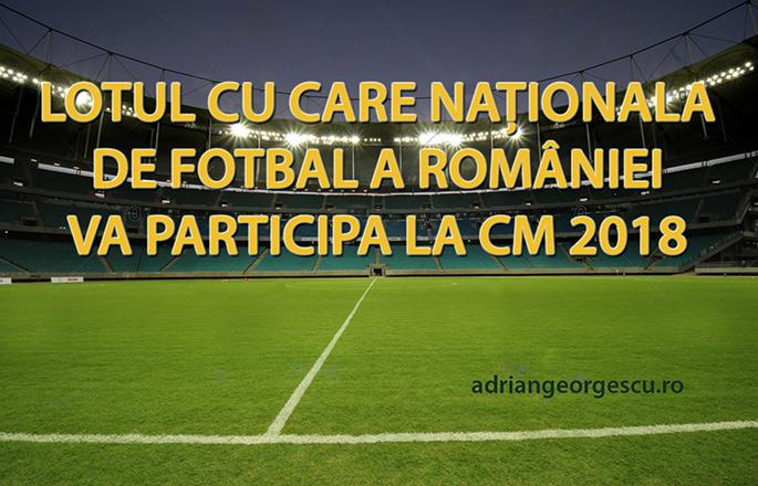 Concurs cu premiu (3). Descrieți un meci al României