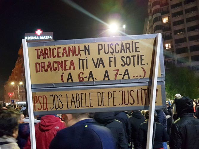 Cele mai tari mesaje de la proteste